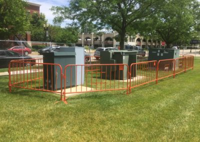 crowd-control-barricades-around-utilities