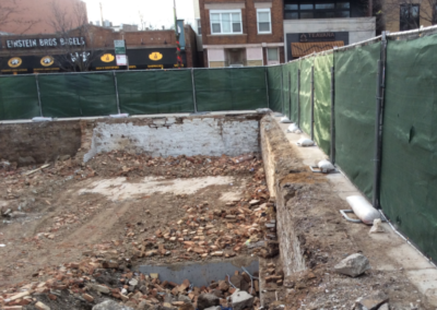 temporary-construction-privacy-screen-fence-panel-around-demo